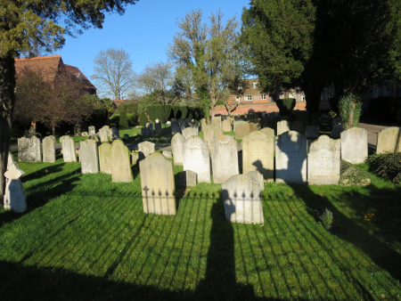 marlow church yard