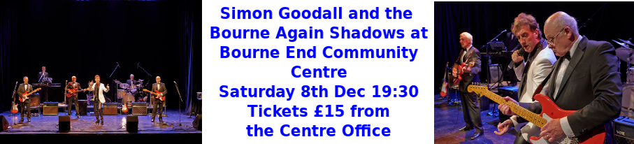 Simon Goodall and the Bourne Again Shadows