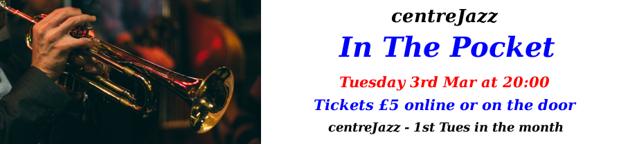 centreJazz-In The Pocket - Mar 2020