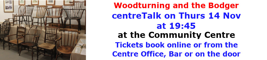 centreTalks - Woodturning and the Bodger - Nov 2019