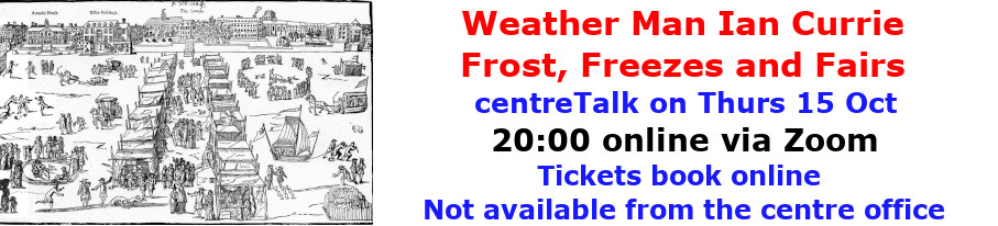 centreTalks - Frost, Freezes and Fairs - Oct 2020