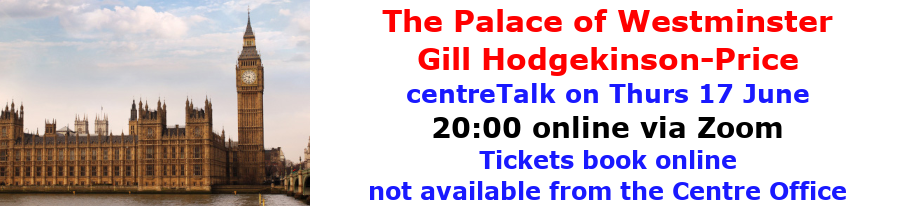 centreTalks - The Palace of Westminster - Jun 2021