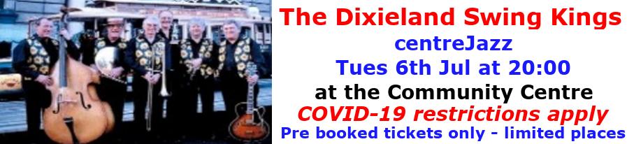 centreJazz- the Dixieland Swing Kings - Dec 2020