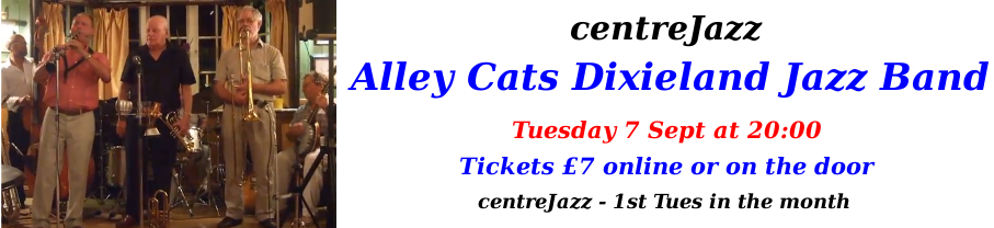 centreJazz- Alley Cats - Sep 2021