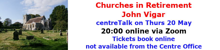 centreTalks - Churches in Retirement - May 2021
